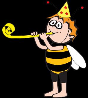 Biene Maja feiert Geburtstag